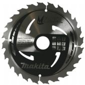 Makita 210x30mm TCT MForce Circular Saw Blade - 24 Teeth (B-08078)